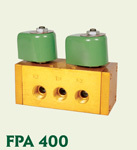 FPA 400/4 Way 5 Port 2 Position/ 3 Port Single and Double Solenoid Valves