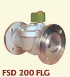 FSD 200 FLG / 2 Way Diaphgram Type Pilot Arrangement Flanged end Solenoid Valves