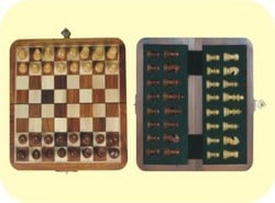 Chess Boards - Chess Brute Folding - Chess Magnetic Folding Tray (175mm X 175mm)