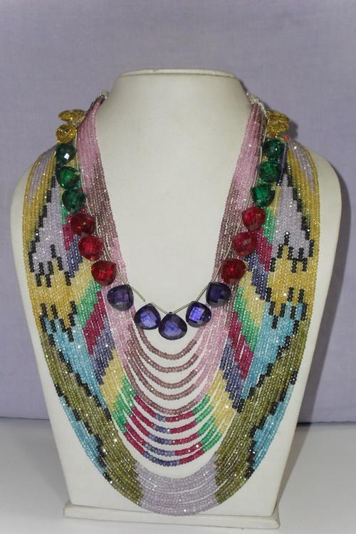 Cubic Zirconia Fancy Beads Shapes in  Gopal Ji Ka Rasta (Jb-1)