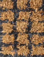 Leather Shag Floor Rugs