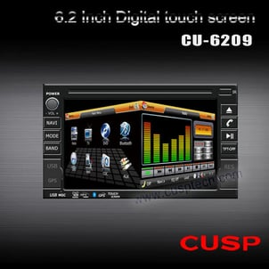 CAR DVD PLAYER WITH GPS FOR ANY CAR