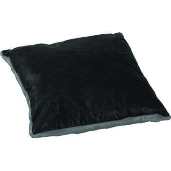 Luxurious Leather/Faux Fur Pillow