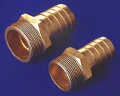 Brass Hose Nipples