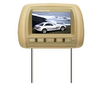 7 INCH HEADREST TFT LCD MONITOR/TV