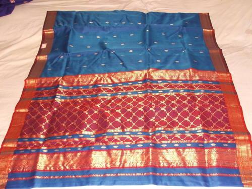 Silk Jalpallu Saree