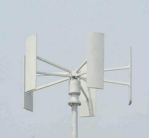 300W 600W 1KW 2KW Nile Series Vertical Axis Wind Turbine in Shenzhen