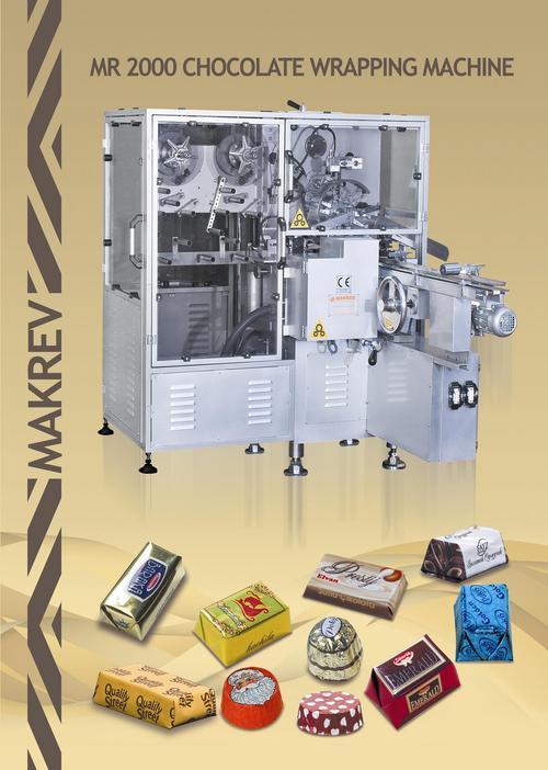 MR 2000 Chocolate Wrapping Machine