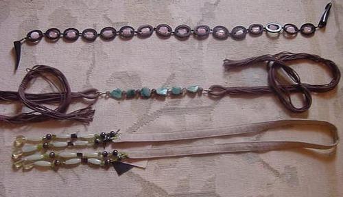 Semi-Precious Stones Belts