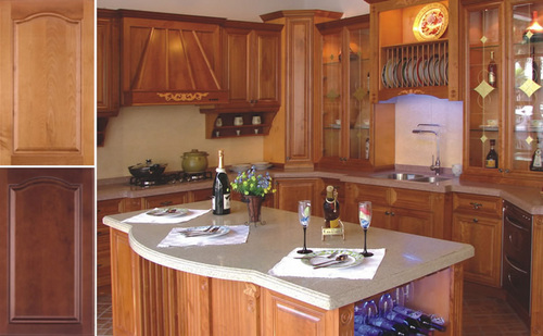 America Cherry Wood Kitchen Cabinet Units At Best Price In Foshan Guangdong Bon Kitchen Cabinet Co Ltd