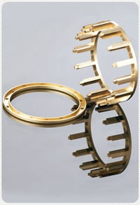 Cylindrical Brass Roller Bearing Cage