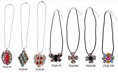 Faux Stone Necklace