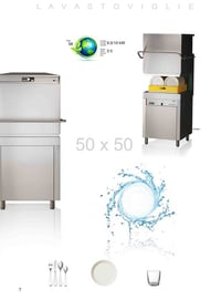 CF1000 Hood Type Dishwasher