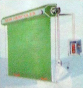 Automatic Industrial Rolling Shutters