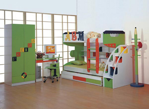 Colored Bunk Beds Wudplay Corporation No 7 1 27 A Green Lands