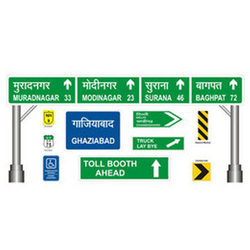 Overhead Gantry Signs/Direction Signs