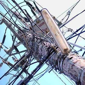 Power Distribution Transmission Structure - Pole Accessories