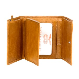 Men'S Trifold Leather Wallets