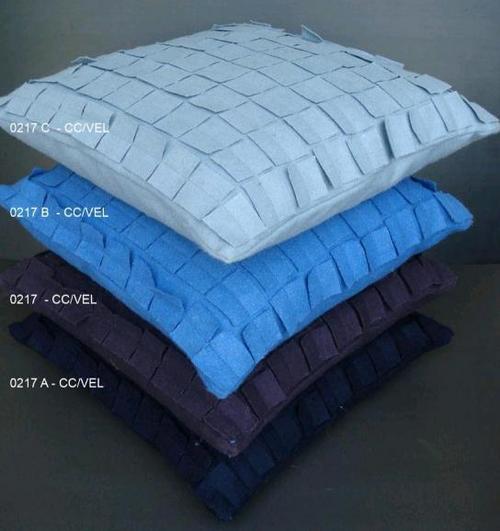 Plain Felt Cushion Covers