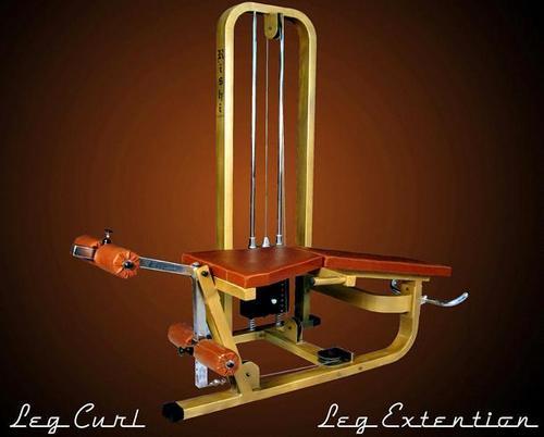 Leg Curl And Leg Extension Machine