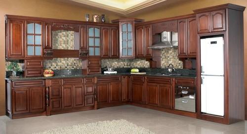 Beech Wood Cabinets ~ Beech wood kitchen cabinet in foshan guangdong