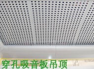 Perforated Fiber Cement Ceiling Board