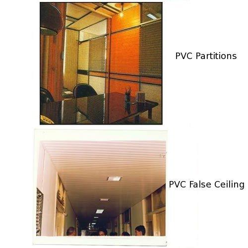PVC Partitions/False Ceiling