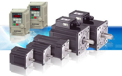 Brushless Motors with AC Drive