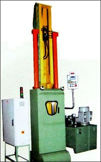 Vertical Pull Type Broaching Machine