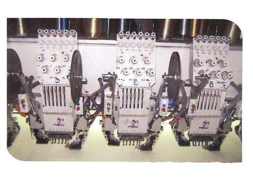 Double Sequence Embroidery Machine