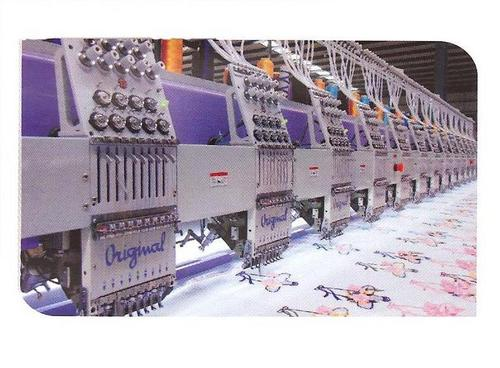 Flat High Speed Embroidery Machines
