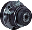 Cylinder-Integrated Hydraulic Collet Chuck
