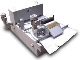 Gravity Paper Band Filtration System With Magnetic Separators