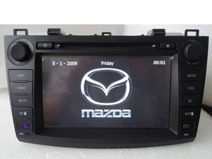 """7"""" HD 800*480 Car DVD Player For Mazda 3 Roomster With GPS/FM/TV"""