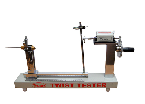 Twist Tester Manual For Double Yarn