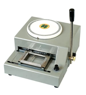 Dog Tag Steel Plate Embossing Machine