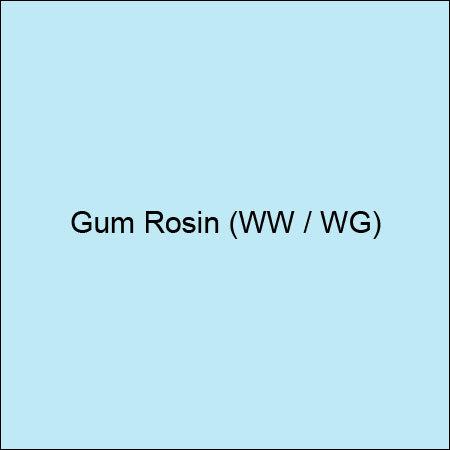 Gum Rosin (WW / WG)