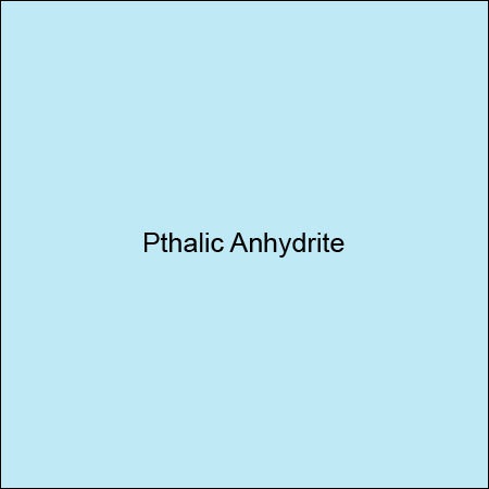 Pthalic Anhydrite