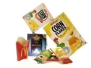 Folding Cartons For Food and Beverages