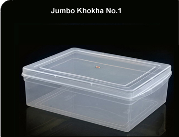 Jumbo Khokha Transparent Containers
