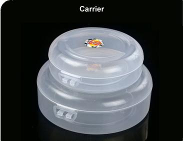 Transparent Carriers