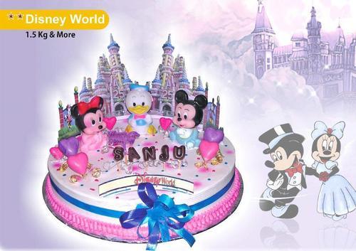 Amazing Disney World Theme Cakes At Best Price In Mumbai Maharashtra Funny Birthday Cards Online Barepcheapnameinfo