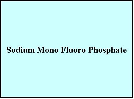Sodium Mono Fluoro Phosphate in  Lbs Marg-Ghatkopar(W)