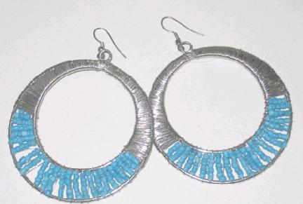 Fashionable Costume Earrings in  Wea