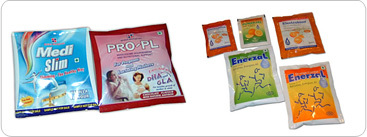 Food Supplements Packaging Pouches
