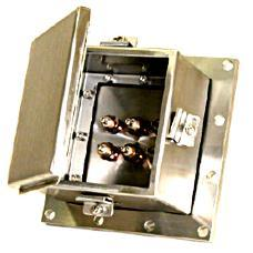 Transformer Tank Wall Plate With Protective Cover
