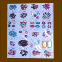 Designer Handcrafted Plastic Beads