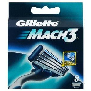 Gillette Mach3 Refill 8 Blade