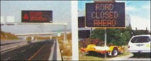 Led / Lcd Based Variable Message Signs