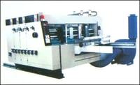 Two Colour Printer Slotter With Rotary Die